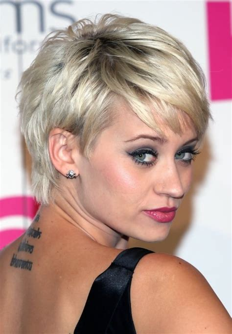 silver pixie hair cut kimberly wyatt short silver pixie hairstyles 2013