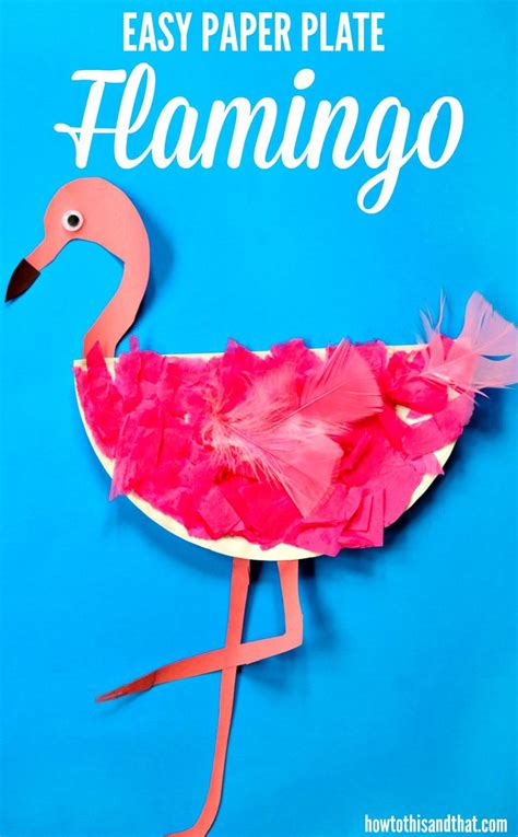 flamingo craft projects this easy paper plate flamingo craft requires few