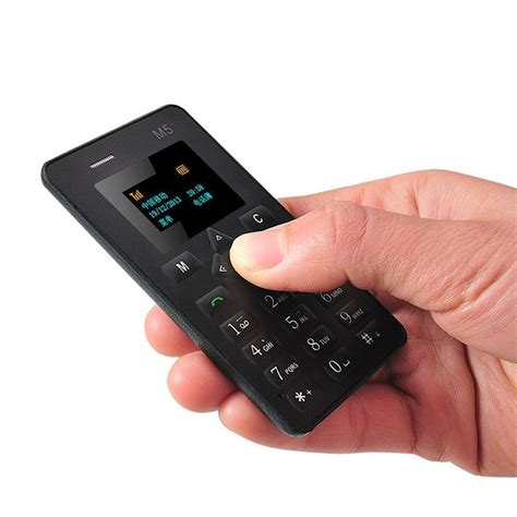 Mini Mobiles by World S Smallest Cell Phone Credit Card Size Micro Sim