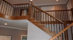 pictures of handrails stair railings by ellerman woodworking