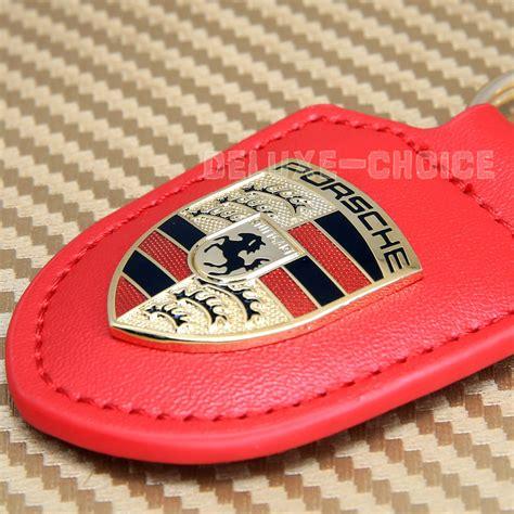 porsche design keychain porsche design metal key ring badge logo gold crest