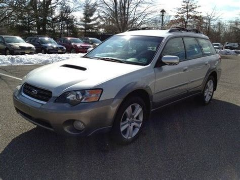 where to buy car manuals 2005 subaru outback security system buy used no reserve silver 2005 subaru outback xt turbo wagon 5 speed manual 129k in