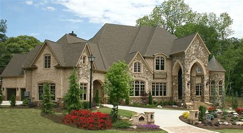 European Homes | luxury european style homes transitional exterior