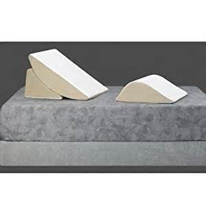 sit up in bed pillow walmart amazon com bed wedge 3 piece sit up pillow system health