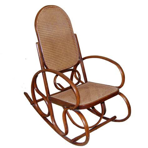 thonet style bentwood rocking chair   sellingantiquescouk