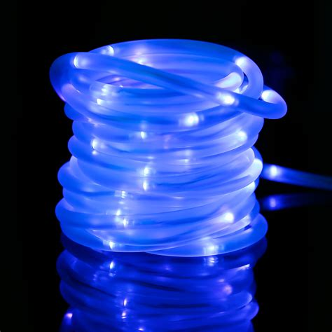 Exceptional Led Christmas Rope Lights Wholesale #3: 33ft-solar-rope-lights-waterproof-leds-4300007-blue-4.jpg
