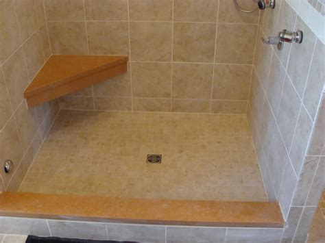 installing granite shower bench better bench a bench forming system westside tile and