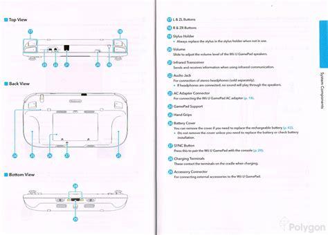 Wii U Instruction Manual Photos Nintendotoday