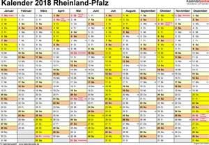 Kalender 2018 Doc Kalender 2018 Rheinland Pfalz Ferien Feiertage Word