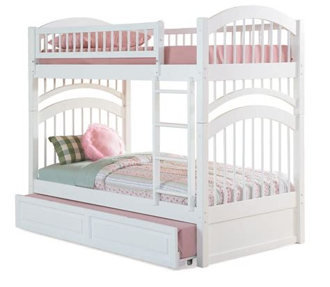 bunk bed with trundle and stairs white bunk beds with stairs white bunk beds with stairs