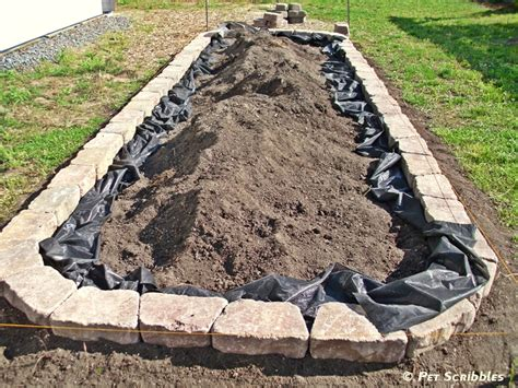 Landscape Fabric In Raised Beds How To Build A Raised Garden Bed For Vegetables