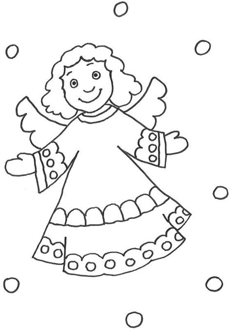 Kostenlose Vorlage Engel Kostenlose Malvorlage Szenen Aus Der Bibel Engel Mit Lockigem Haar Zum Ausmalen