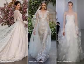 Spring 2017 bridal wedding dresses fashion trends wedding dresses with