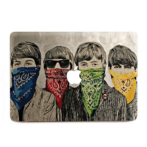 Decal Sticker Apple Beatles Katze Decal the beatles drawing macbook skin decal