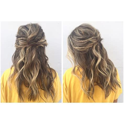prom hairstyles bohemian boho hair prom updo with braids and twists and messy waves