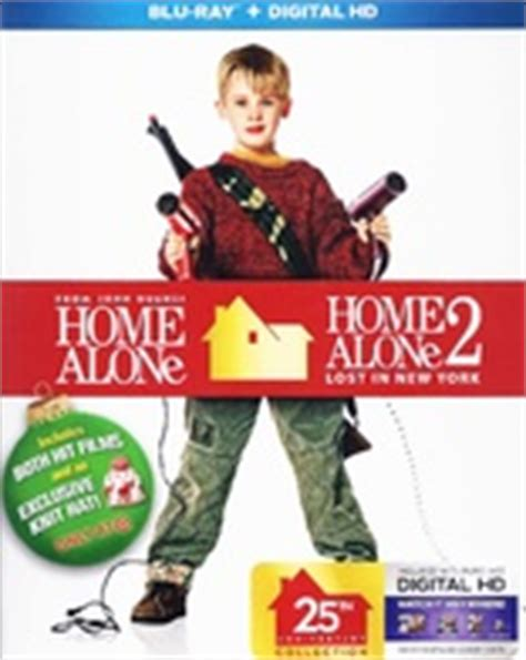 Bluray Original Home Alone Lost In New York home alone 25th anniversary edition collection home alone home alone 2 lost in new