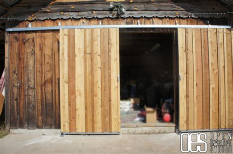 Barn Door Shed by Norton Residence Sliding Barn Doors Rustic Shed