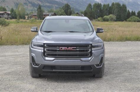 2020 gmc acadia length 2020 gmc acadia drive another at4 joins the lineup
