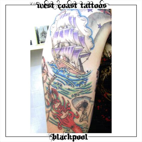 west coast tattoo designs colour tattoos west coast tattoos blackpool