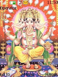 ganesh themes for nokia 5130 download panchmukhi ganesh nokia theme mobile toones
