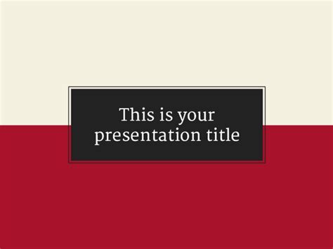 formal powerpoint templates free presentation template serious and formal