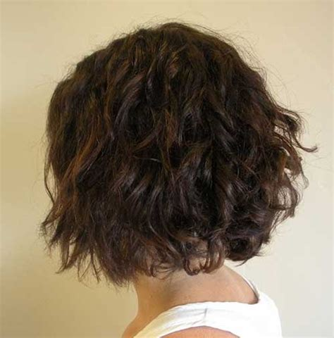 short permanent curl hairstyles 25 curly perms for short hair short hairstyles