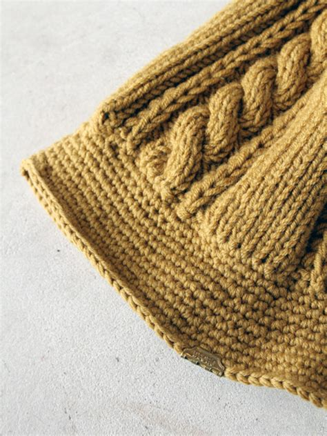knitting cruise decho quot knit cruise hat quot アパレル 男性用 garitto