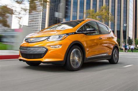 chevrolet bolt ev    motor trend car   year