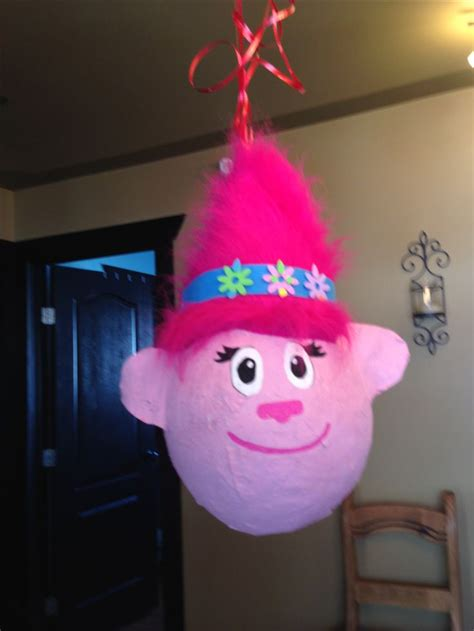 Pinata Trolls By Pinata Dimi the 70 best images about trolls birthday ideas on