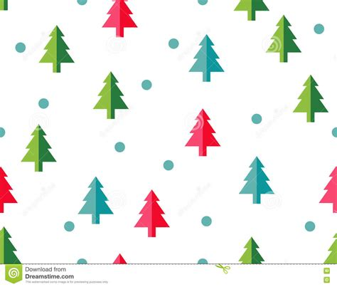 christmas tree new year pattern christmas tree seamless pattern for new year greeting card