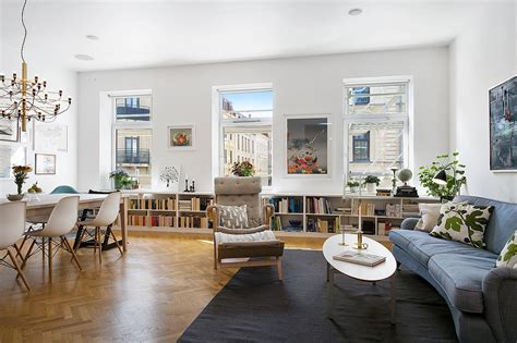 living room apartment refined scandinavian apartment inspiring joyful home