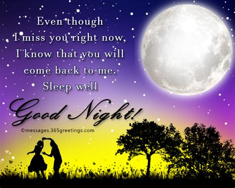 good night message for someone special for him goodnight messages for him 365greetings