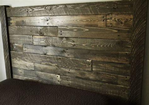 Distressed Wood Headboards Headboard Home Furnishings Reclaimed Wood Headboard Headboard Rustic Headboard