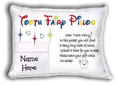 Poems About Pillows by Poem Tooth Pillow