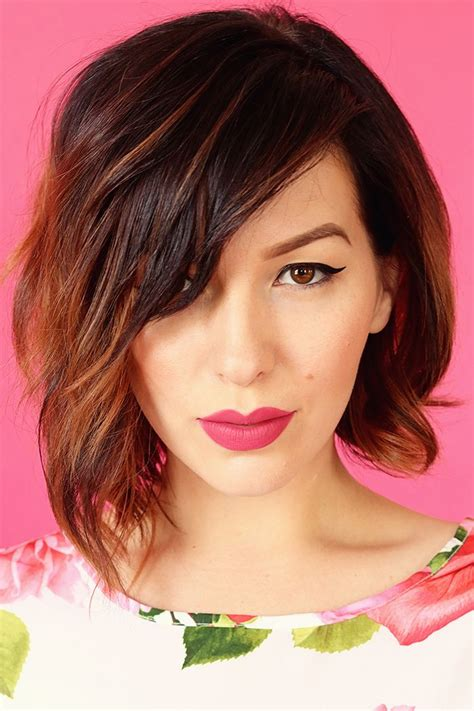 the 25 best ideas about long layered bobs on pinterest 25 best ideas about wavy asymmetrical bob on pinterest