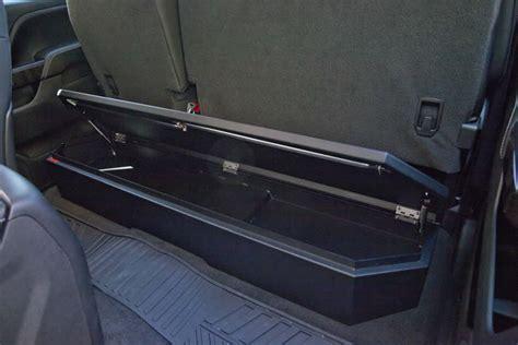 seat gun safe jeep wrangler suvault 174 model 3011 2007 2015 silverado crew