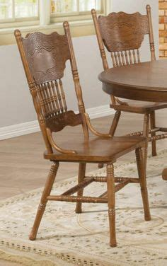 2 antique oak pressed back cane seat dining room side 1000 images about amish pressback chairs on pinterest