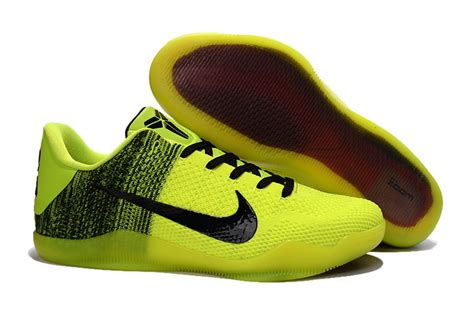 green and black basketball shoes nike 11 green black volt basketball shoes for sale