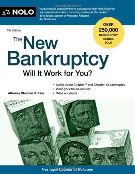 the new bankruptcy will it work for you 4 edition