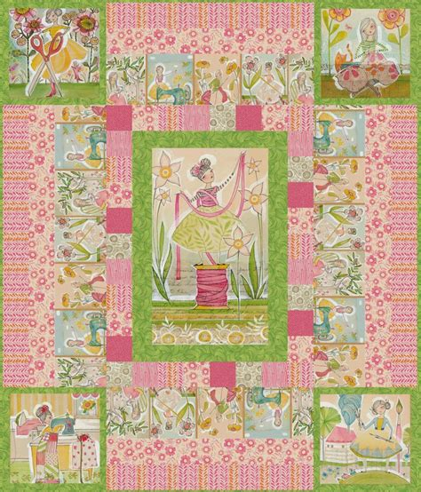 pattern colorway free quilt pattern for quot the makers quot pink colorway