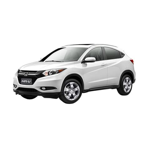 jual honda hrv 1 5 e a t mobil white orchid pearl