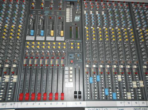 Mixer Allen Heath Gl3300 allen heath gl3300 32 8 8 2 image 797174 audiofanzine