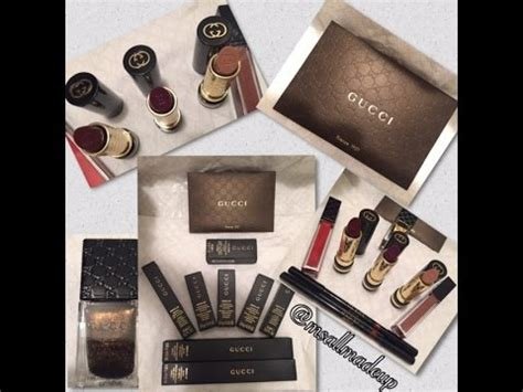 Gucci Up And For by Gucci Makeup Review 1st Impressions