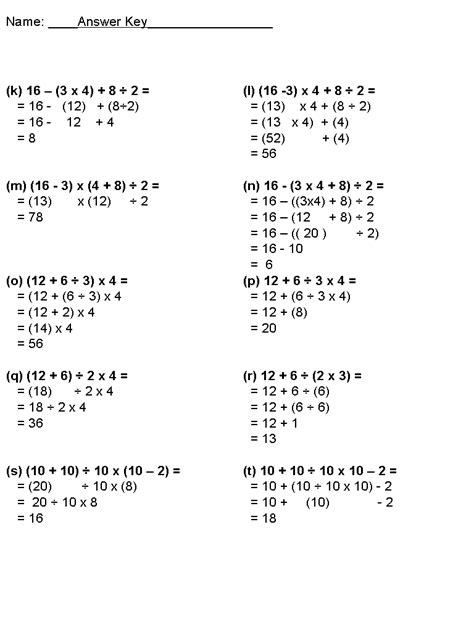 Bedmas With Fractions Worksheet by Bedmas Math Questions Grade 8 Yachtarabella