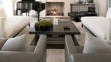 instyle home decor shop kourtney kardashian s sleek living room instyle com