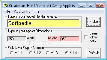 java swing file browser html java swing applet creator download