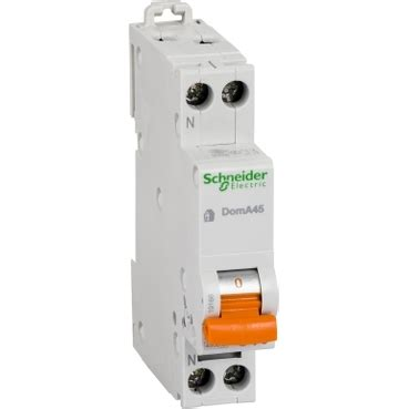 Mcb Schneider Domae 16a 1p electroshops ro magazin produse electrice