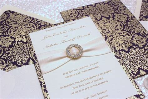 indian wedding invitations etsy wedding invitation purple and gold by alexandrialindo etsy and indian wedding cards onli