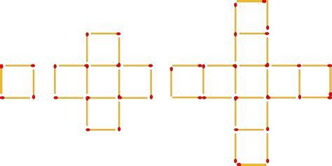 matchstick pattern questions matchstick patterns 2 worksheet edplace