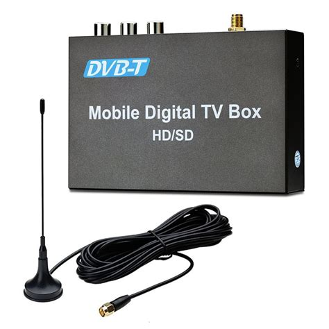 Tv Tuner Inforce car digital dvb t freeview hdmi usb tv tuner receiver with aerial buy from incarmusic co uk